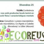 Conferencia de Agnès Pérez en Ecoreus 2016