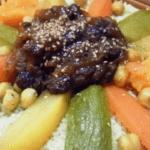 Cous-cous vegano al estilo marroquí
