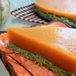 Tarta de calabaza con ricotta vegana de acelgas
