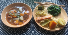 Macrobiótica fácil y rápida: menú.